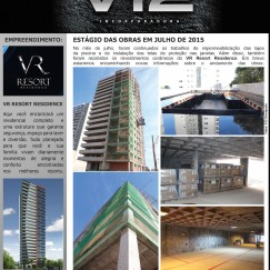Informativo V12 - VR Resort Residence - Jul/2015
